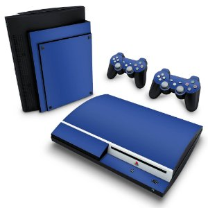 PS3 Fat Skin - Azul Escuro