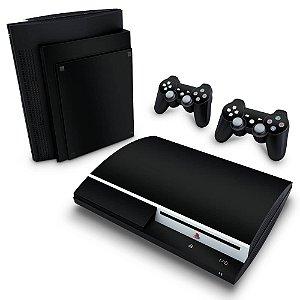 PS3 Fat Skin - Preto Black Piano
