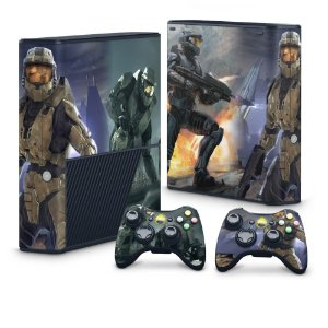 Xbox 360 Super Slim Skin - Halo 3