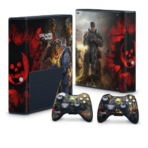 Xbox 360 Super Slim Skin - Gears of War 3