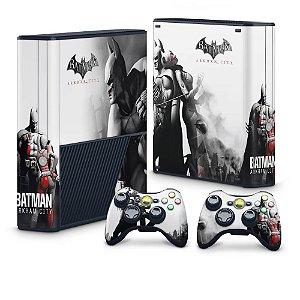 Xbox 360 Super Slim Skin - Batman Arkham City