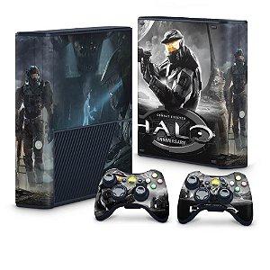 Xbox 360 Super Slim Skin - Halo Anniversary