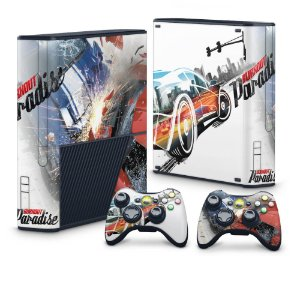 Xbox 360 Super Slim Skin - Burnout Paradise