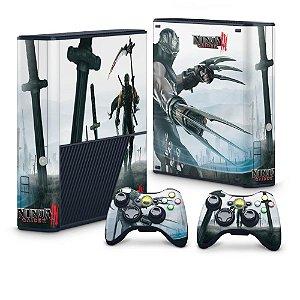 Xbox 360 Super Slim Skin - Ninja Gaiden 3