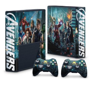 Xbox 360 Super Slim Skin - The Avengers - Os Vingadores