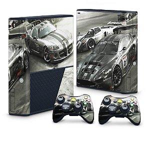 Xbox 360 Super Slim Skin - Race Driver Grid