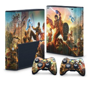 Xbox 360 Super Slim Skin - BulletStorm