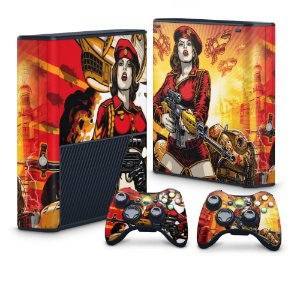 Xbox 360 Super Slim Skin - Command and Conquer Red Alert