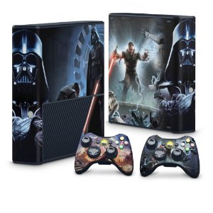 Xbox 360 Super Slim Skin - Star Wars The Force Unleashed
