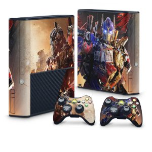 Xbox 360 Super Slim Skin - Transformers Revenge of the Fallen