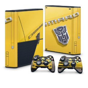 Xbox 360 Super Slim Skin - Transformers Camaro