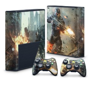 Xbox 360 Super Slim Skin - Crysis 2