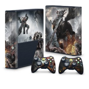 Xbox 360 Super Slim Skin - Darksiders Wrath of War