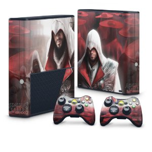 Xbox 360 Super Slim Skin - Assassins Creed Brotherwood #A