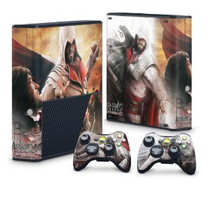 Xbox 360 Super Slim Skin - Assassins Creed Brotherwood #B
