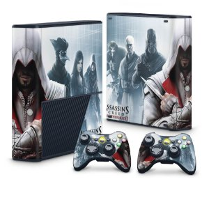 Xbox 360 Super Slim Skin - Assassins Creed Brotherwood #C