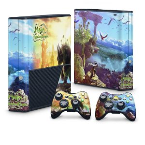 Xbox 360 Super Slim Skin - Majin and the Forsaken Kingdom
