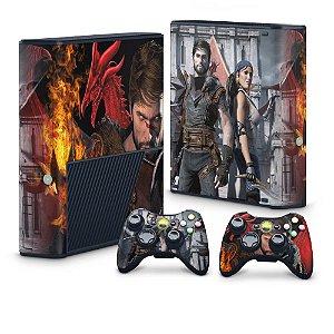 Xbox 360 Super Slim Skin - Dragon Age 2