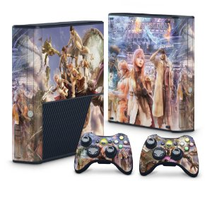 Xbox 360 Super Slim Skin - Final Fantasy XIII #B