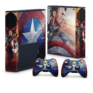 Xbox 360 Super Slim Skin - Capitão América