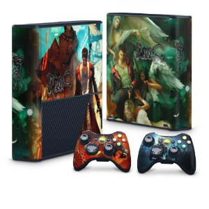 Xbox 360 Super Slim Skin - Devil May Cry 5