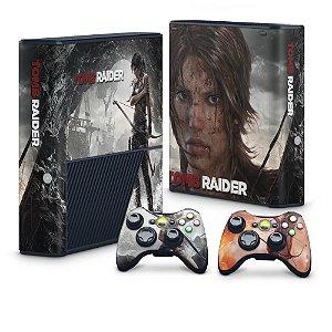 Xbox 360 Super Slim Skin - Tomb Raider