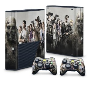 Xbox 360 Super Slim Skin - The Walking Dead #A