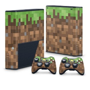 Xbox 360 Super Slim Skin - Minecraft
