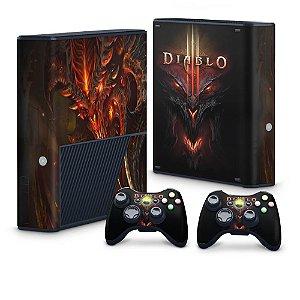 Xbox 360 Super Slim Skin - Diablo 3
