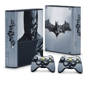 Xbox 360 Super Slim Skin - Batman Arkham Origins