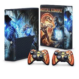 Xbox 360 Super Slim Skin - Mortal Kombat