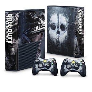 Xbox 360 Super Slim Skin - Call of Duty Ghosts