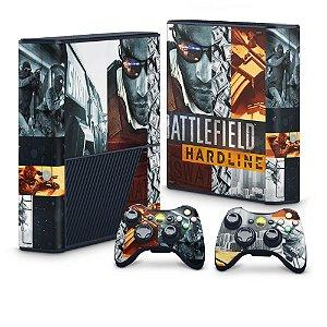Xbox 360 Super Slim Skin - Battlefield Hardline