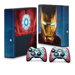Xbox 360 Super Slim Skin - Iron Man - Homem de Ferro #B