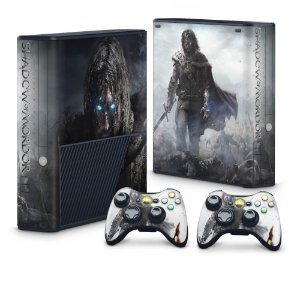 Xbox 360 Super Slim Skin - Middle Earth: Shadow of Mordor
