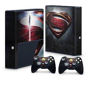 Xbox 360 Super Slim Skin - Superman - Man of Steel