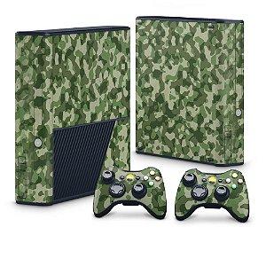 Xbox 360 Super Slim Skin - Camuflado