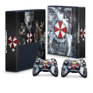 Xbox 360 Super Slim Skin - Resident Evil - Umbrella