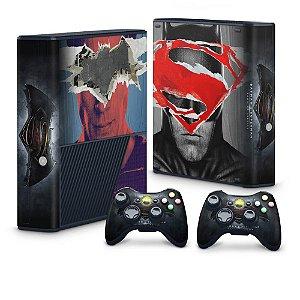 Xbox 360 Super Slim Skin - Batman vs Superman