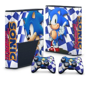 Xbox 360 Super Slim Skin - Sonic The Hedgehog