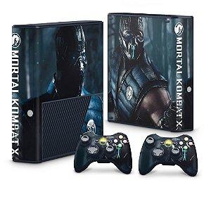 Xbox 360 Super Slim Skin - Mortal Kombat X Subzero