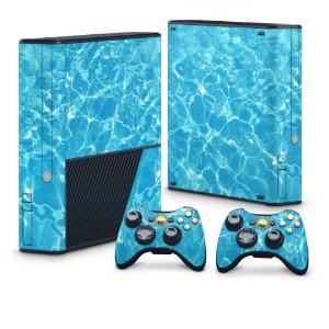 Xbox 360 Super Slim Skin - Aquático Água