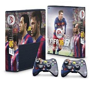 Xbox 360 Super Slim Skin - FIFA 16