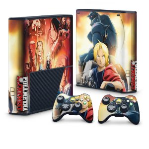 Xbox 360 Super Slim Skin - Fullmetal Alchemist: Brotherhood