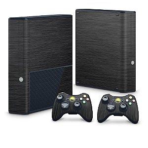 Xbox 360 Super Slim Skin - Aço Escovado Preto