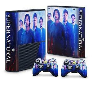 Xbox 360 Super Slim Skin - Supernatural Sobrenatural