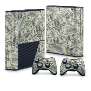 Xbox 360 Super Slim Skin - Dollar Money Dinheiro