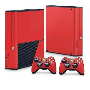 Xbox 360 Super Slim Skin - Vermelho