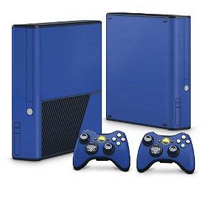 Xbox 360 Super Slim Skin - Azul Escuro