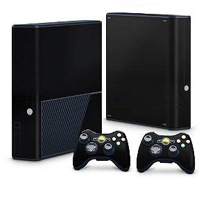 Xbox 360 Super Slim Skin - Preto Black Piano